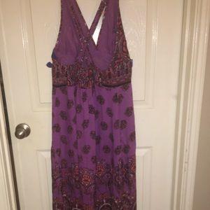 Vintage hobo fun flowing dress!!!